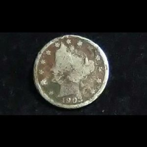 Other - 1903 nickel Rare